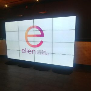 4 x 4 Seamless LED Video Wall Rentals