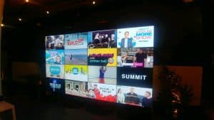 Indianapolis Audio Visual Rentals for LED Video Walls, Seamless Video Walls, LED Monitor Rentals, Touch Screen Monitor Rentals.