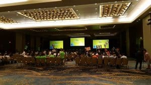 General session meeting, Corporate meeting